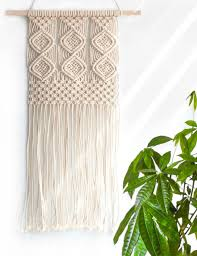 amazon com mkono macrame banner wall hanging home decor 7