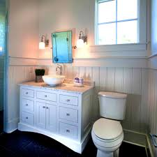 show me bathrooms with beadboard 1950 s pink bathroom to awesome