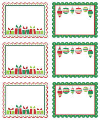 christmas address labels templates free christmas decore