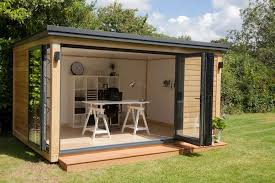 Backyard Shed Kit Garden Office Image With Charming Garden Shed Office Ideas
