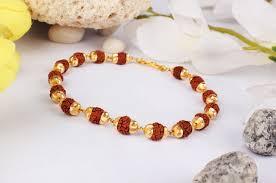 bracelet designs gold images Rudraksha bracelet in gold design i rudraksha ratna jpg