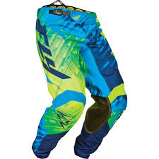 blue dirt bike boots fly racing 2015 kinetic glitch race pant available at
