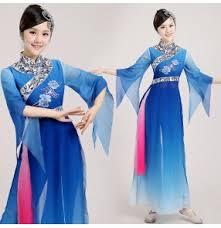 women u0027s girls female blue pink patchwork gradient color one