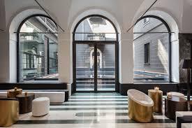 design hotel mailand senato hotel hair spa lobbies interiors