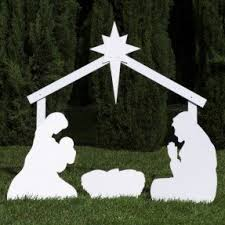 outdoor nativity decorations foter