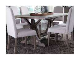 dining room trestle table liberty furniture carolina lakes trestle table with weathered gray