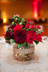 Red Roses Centerpieces Featured Wedding Harvey Designs Events Page 6
