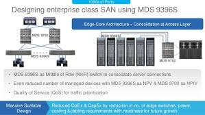 mds class designing scalable san using mds 9396s