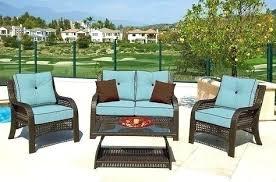 garden treasures outdoor furniture garden treasures 5 piece steel