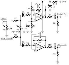 portable mixer circuit diagrams schematics electronic projects