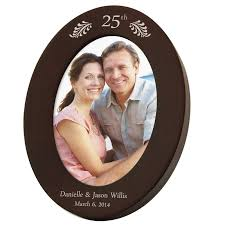 25th anniversary plates personalized personalized 25th wedding anniversary gifts photo frames more