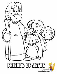 jesus bible coloring pages for kids preschool to cure print image