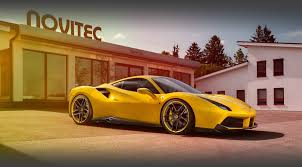 ferrari yellow interior novitec ferrari 488 gtb catalog novitecgroup com