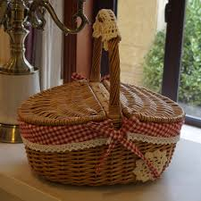 Rattan Baskets by Compare Prices On Covered Wicker Baskets Online Shopping Buy Low