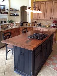 kitchen island counter walnut island counter tops traditional kitchen houston by