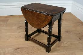 drop leaf end table charles ii style oak swivel drop leaf coffee table antiques atlas