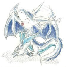 baby ice dragon by cobaltwolfsirius on deviantart