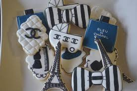 chanel baby shower chanel shower cookie connection
