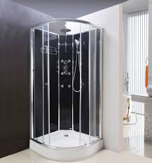 shower cabins shower cubicles shower cabinets shower units lisna waters olympia black 800 x 800mm hydro massage shower cabin lw16