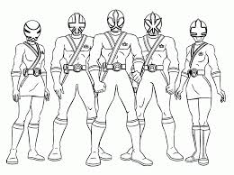 power rangers jungle fury coloring page coloring home