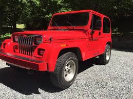 1993 jeep for sale 1993 jeep wrangler yj renegade 98k original 3 tops and doors