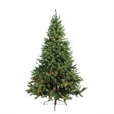 6 ft pre lit canadian pine artificial tree candlelight