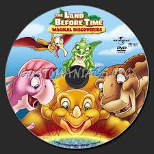 land magical discoveries dvd label dvd covers