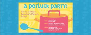 potluck invitation potluck party invitation wording cimvitation
