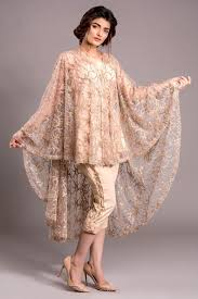 cape designs tabassummughal arabic style net draped cape