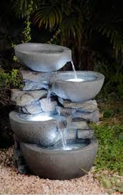 Outdoor Water Fountains With Lights Garden Classic 3 Tier Outdoor Fountain Walmart Com