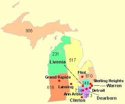 area code map of michigan addresses and phone numbers of all colleges schools universities