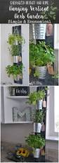 fall wall hanging indoor herb garden insanely cool herb garden