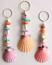 seashell keychains martha stewart