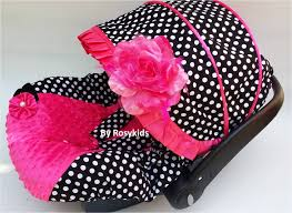 Pink Car Seat Canopy by Rosy Kids Canopies U0026 Covers Infant Carseat Canopy Cover 3 Pc