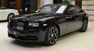 Rolls Royce Phantom Interior Features Rolls Royce Wraith Black Badge Has A Very Orangy Interior