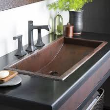 native trails trough sink trough 36 36 inch rectangular copper bathroom sink native trails