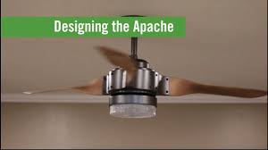 wifi enabled ceiling fan meet the apache behind the design youtube