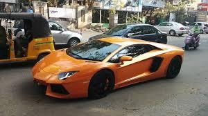 lamborghini car owners in chennai lamborghini aventador spotted at chennai