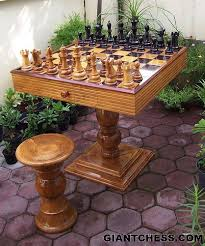 Chess Table Best 20 Chess Table Ideas On Pinterest Wooden Chess Board Game