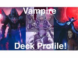 Yugioh Halloween Costume Yugioh Vampire Deck Profile October 2015