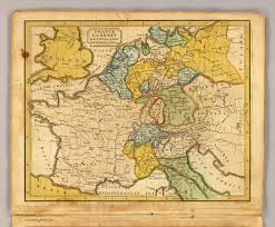 France And Germany Map by France Germany Netherlands Switzerland U0026c David Rumsey