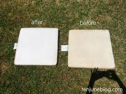 How To Clean Outdoor Patio Furniture How To Clean Patio Cushions With Mildew Free Home Decor