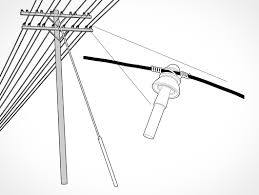 guy wire electrical pole stability