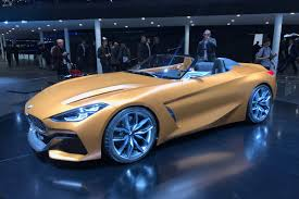 new 2018 bmw z4 previewed by bold concept at frankfurt auto express