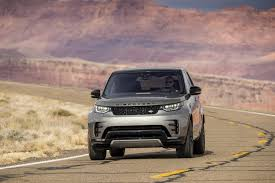 silver land rover discovery on the road land rover discovery in depth road test review
