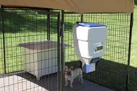 Wall Mount Pet Feeder Dog Kennel Feeders