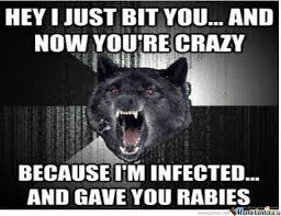 Crazy Wolf Meme - meme center insanity wolf center best of the funny meme