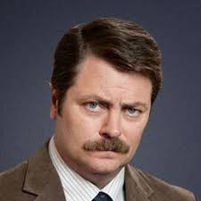 High Quality Meme Generator - ron swanson happy birthday blank template imgflip