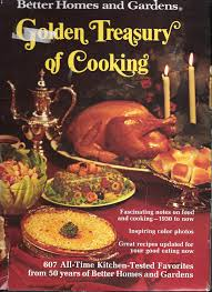homes and gardens golden treasury of cooking with dust jacket