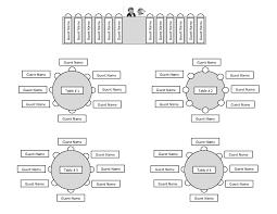 Example Bartender Resume Wedding Seating Chart Printable